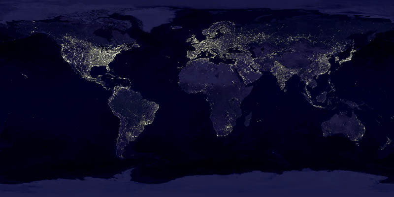 earth lights, earth-at-night, energy-use, inequality